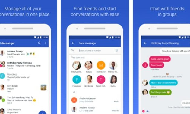 Android Messages 630x380 » Aplikasi SMS Alternatif Terbaik Untuk Smartphone Android