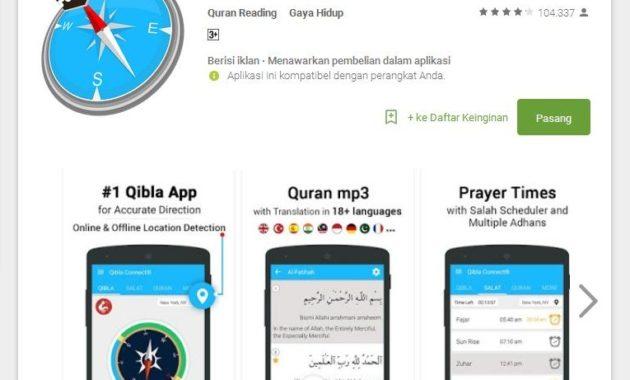 Arah Kiblat 630x380 » Ini Rekomendasi Aplikasi Android Penunjuk Arah Kiblat