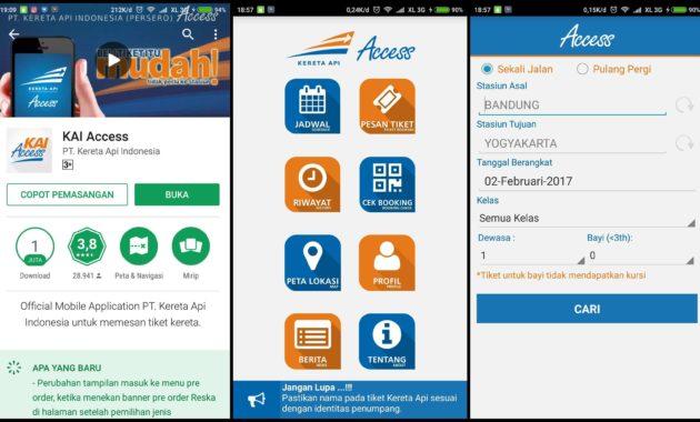 KAI Access 630x380 » Inilah Ragam Pilihan Aplikasi Android Untuk Booking Tiket Kereta Api
