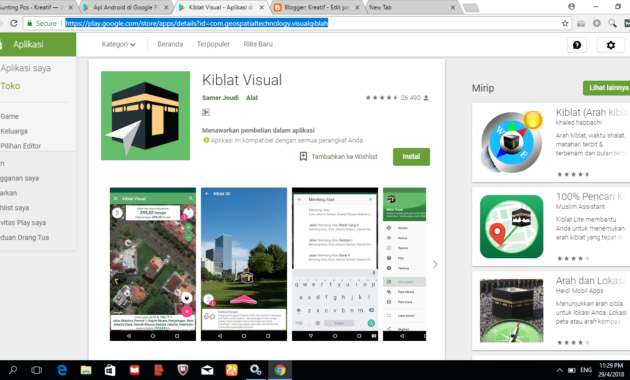 Kiblat Visual 630x380 » Ini Rekomendasi Aplikasi Android Penunjuk Arah Kiblat