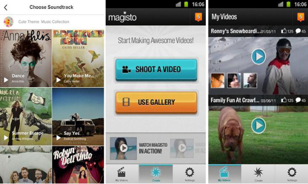 aplikasi android magisto video editor maker » Inilah Rekomendasi 11 Aplikasi Android Edit Video yang Super Keren