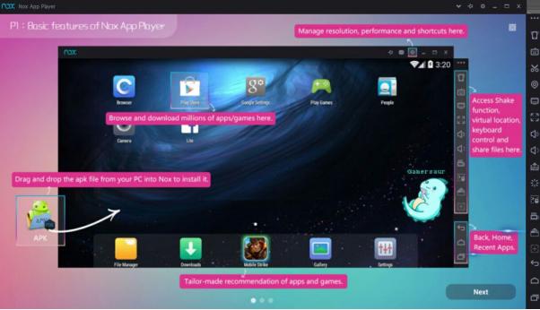 emulator android untuk laptop komputer hemat ram nox player » Ini 7 Emulator Android Terbaik Paling Hemat RAM untuk Komputer dan Laptop