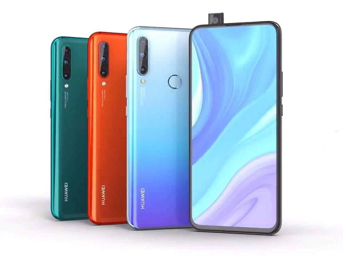 fitur spek harga huawei enjoy 10 plus » Huawei Enjoy 10 Plus, Smartphone Dengan Kamera 48 MP Tanpa Poni