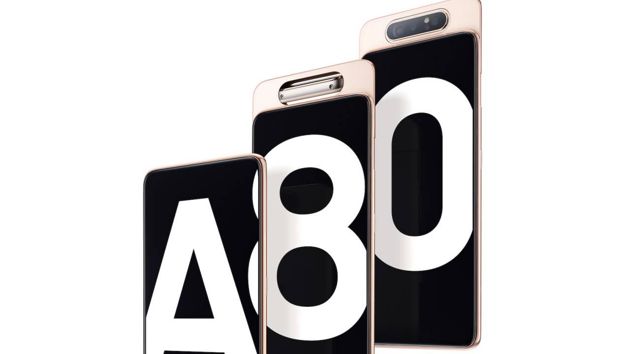 fitur spek harga samsung galaxy a80 » Samsung Galaxy A80, Smartphone Flagship Dengan Sistem Kamera Slide dan Rotasi