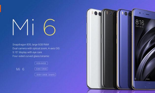 harga fitur smartphone xiaomi mi 6 630x380 » Rekomendasi 5 Smartphone Xiaomi Terbaik dan Terbaru 2018