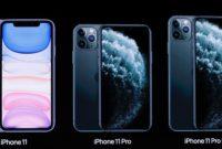 perbandingan spesifikasi iphone 11 pro dan pro max 200x135 » Ini Perbandingan Spesifikasi iPhone 11, Pro, dan Pro Max