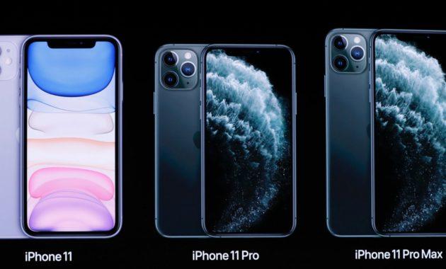 perbandingan spesifikasi iphone 11 pro dan pro max 630x380 » Ini Perbandingan Spesifikasi iPhone 11, Pro, dan Pro Max