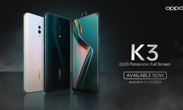 review fitur harga spesifikasi oppo k3 630x380 » Oppo K3, Smartphone 3 Jutaan Rupiah Dengan SoC SD 710